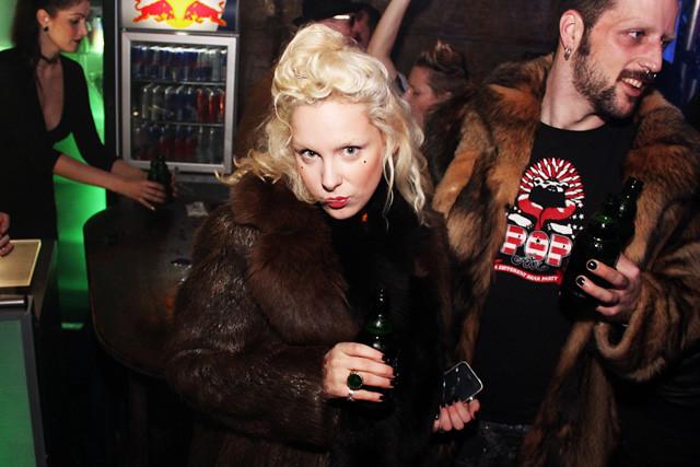 Dandy Diary Fashion Week Bunker Party
