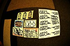 Stickers (Juice Legacy) Tags: nyc newyorkcity ny newyork ski nova vertical graffiti acc nikon sticker graf stickers fez mq labels postal usps graff za sr papo nbk rfc dtf ogm handstyle ked mkue 2esae 5mh zaone d5200