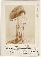 Amy Castles, soprano, as Madama Butterfly, between September 1909-January 1910 / photograph by Talma, Sydney