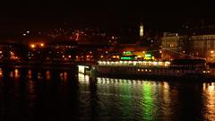 DSC02140 (SeppoU) Tags: night river restaurant hotel boat czech prague snapshot praha tourist february vltava turisti y 2014 ravintola moldau joki laiva hotelli helmikuu nex6 npsy