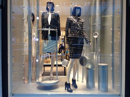 Vitrines Chanel - Genève, février 2014