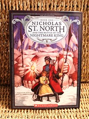Nicholas St. North and the Battle of the Nightmare King (Vernon Barford School Library) Tags: santa new school fiction moon laura saint st reading book high king bass good wizard library libraries north reads evil books battle william lg read paperback adventure nicholas cover hero junior joyce santaclaus novel covers nightmare heroes bookcover adventures claus middle vernon recent guardian bookcovers paperbacks nightmares novels fictional wizards guardians claussen adventurers barford softcover geringer shalazar vernonbarford softcovers 9780545515511 santoff ombric