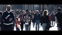 l'acordionista (Seracat) Tags: barcelona street city people urban love born bcn streetphotography streetphoto streetshot seracat marcserarols