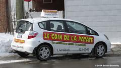 Le coin de la patate (Gerard Donnelly) Tags: auto car restaurant delivery livraison