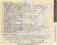 Las Estaciones del Canto, en este último trabajo realizado por Gabriela Pizarro, en marzo de 1999 ella cantó 3 cuecas recopiladas por mi, la primera Por qué no florece el árbol ( IV Región) y Cuatro son las estaciones y Corazón de madera (V Región).