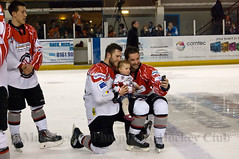 Selfie Time! (Official Manchester Phoenix Photography) Tags: game ice hockey phoenix sport manchester championship team contest icehockey medal rink match trophy presentation puck win title fixture league champions epl manchesterphoenix englishpremierleague telfordtigers