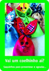 Saquinhos 12x19 (Ana Evangelina1) Tags: feltro pascoa saquinhos coelhinhos