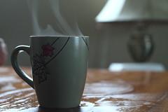 Joe (michelbernierphotography) Tags: wood ontario canada macro coffee table aperture exposure steam mapleleaf mug