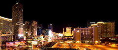 Doesn't stay in Vegas - Las Vegas, NV (// Roy //) Tags: las vegas panorama nikon lasvegas nevada wideangle citylights starburst sincity lasvegasskyline rokinon panoramalasvegas