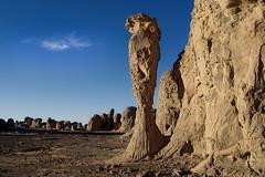 Tassili du Hoggar/Algerije - Vreemde bouwsels door moeder natuur!
