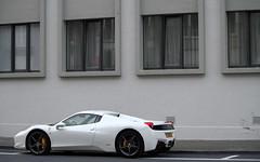 Ferrari 458 Spider. (Tom Daem) Tags: spider ferrari knokke 458