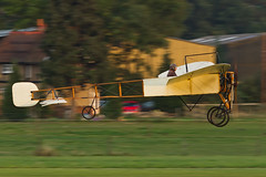 Bleriot XI - 3 (NickJ 1972) Tags: autumn aviation collection airshow shuttleworth 2012 bleriot xi airday oldwarden gaang