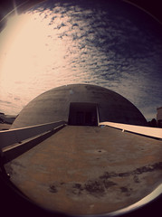 MUSEU (arq.thami) Tags: fish eye niemeyer arquitetura architecture lens oscar do museu catedral fisheye dos tres praa sq brasilia athos palacio pombal itamaraty poderes panteo superquadra bulco
