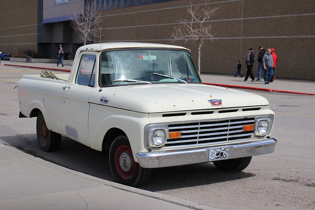 classic ford truck pickup f100 1963 modelb