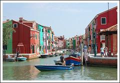 Burano (Miguel Angel García Madrigal) Tags: venice color italia laguna venecia burano artesania madrigal colorido canales
