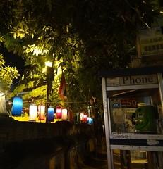 Chiang Mai night - Thailand (ashabot) Tags: night thailand nightlights buddhism temples chiangmai nightshots streetscenes buddhisttemples streetsatnight prapokkloaroad