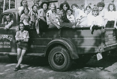 Girl Guides in Northbrook - circa 1940s (CDHS) Tags: 1940s northbrook girlguides sandydrysdale
