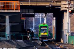 Solaris Tramino S105p #523 (Łukasz Janowicz) Tags: tram pst solaris mpk poznań posen tramwaj трамвай 523 strasenbahn mpkpoznań tramino słowiańska s105p