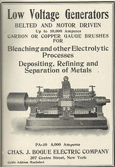Chas J Bogue Electric Company (Kitmondo.com) Tags: old colour history industry work vintage magazine advertising photo industrial factory technology tech working machine advertisement equipment business company machinery advert labour historical kit chas oldequipment publication metalworking oldadvert oldmagazine oldwriting vintageequipment oldadvertisment oldliterature vintagepublication oldpublication machinerypublication