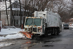 NYC Snowstorm 2015 (Robinson Baez) Tags: new york city nyc winter people snow storm garbage january queens trucks blizzard humans sanitation shoveling plows 2015 canont3ieosrebel