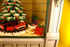 TBRR_LUG_Showcase_2014-12_03 (SavaTheAggie) Tags: railroad brick window retail mall store community texas lego brand showcase lug friendswood baybrook tbrr