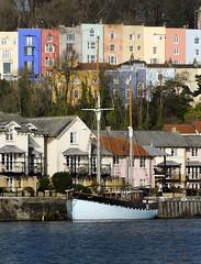 Colourful Bristol (CarolynEaton) Tags: bristol colourful harbourside
