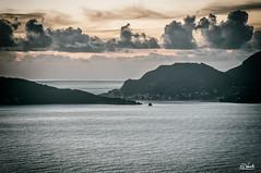 Montemarcello (Simone Vanelli) Tags: sunset sea italy clouds landscape italia tramonto nuvole mare liguria portovenere golfo spezia poeti montemarcello