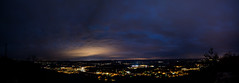 Panorama of Japser, TN (kellyisfancy) Tags: nightphotography night jasper tn tennessee exploring telephoto paintingwithlight canon5d exploration markiii
