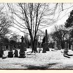 Newington Cemetery Snow