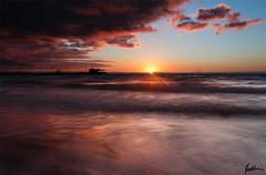 Lignano Pineta (Stefano Zufferli) Tags: canon nuvole mare alba mark ii pro 5d sole pola luce lignano hoya friuli udine scatto