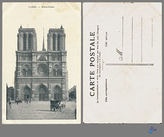 PARIS - Notre-Dame (bDom) Tags: paris 1900 oldpostcard cartepostale bdom