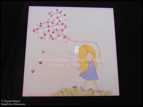 """Conjunto de bebé """"A Fada e os pózinhos perlimpimpim lilás"""""""