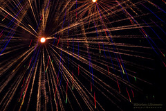 Shaggy Rays and Rainbow Splashes (Lihoman...) Tags: light abstract art lines painting fire long exposure fireworks shapes spot spots flare forms form unreal burst splash shape sparks feuerwerk     lihoman