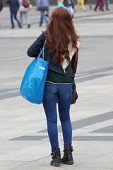 Huge Blue Bag 2 (booster_again) Tags: boots jeans