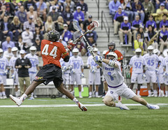 University of Maryland versus Johns Hopkins (crabsandbeer (Kevin Moore)) Tags: people rivalry sports speed action maryland baltimore um bluejays athlete lacrosse ncaa terps johnshopkins