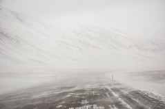 Snow Storm (Marina Rossi Ph) Tags: iceland islandia road ruta nieve snow storm tormenta paisaje landscape naturaleza caminos montaa mountain nice shot colours rural nature clouds art sky air
