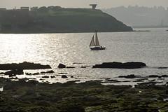 Velero en Gijn (CarlosConde/Photography) Tags: sea mar gijn sony tamron vc elogio horizonte 456 velero 70300 ilce7m2