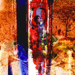 The Dance (Lemon~art) Tags: blue ballet orange colour tree texture dance dancers manipulation dancer