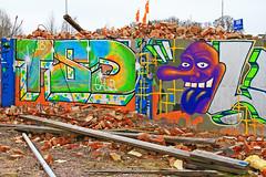 Lång näsa 2 (Quo Vadis2010) Tags: art tom painting graffiti se ruins paint grafitti message sweden empty konst doodle graffitti expressive scrawl lonely sverige solitary revolt scribble halmstad tegel disrepair klotter halland industri industrialruins unoccupied ödslig måla målning bostäder rivning förfall övergiven bruk kludd väggmålning budskap slottsmöllan abandonedruin tegelbruk spraya meansofexpression affärer självförverkligande enslig övergivenindustri industriiförfall municipalityofhalmstad formerbrickworks youthrevolt halmstadkommun norrainfarten wayofexpressingoneself uttrycksform sättattuttryckasig ungdomsrevolt synliggörande industryindisrepair föredettategelbruk underrivning kommandebostadsbebyggelse spreja konstnärligayttringar slottsmöllansbruk