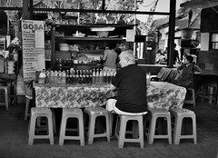 """There was a man""-Giulia Bergonzoni (Mango*Photography) Tags: ocean street travel summer people bali man beach home beer portraits indonesia seaside friend asia market working drinks shore photoraphy sit society meetings corals bergonzoni"