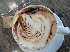 779 (en-ri) Tags: food bar sony cappuccino tavolino cibo zucchero cacao bustina sonysti
