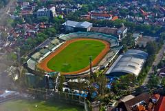 Stadion Siliwangi (BxHxTxCx) Tags: stadium aerialview bandung stadion fotoudara