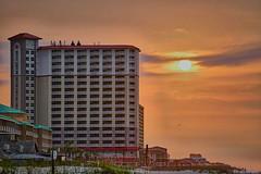 Morning Sunrise At The Beach (Stuart Schaefer Photography) Tags: travel sky seascape building beach sunrise landscape outdoors day florida outdoor shoreline condos cloudscape pensacolabeach sonyalpha santarosainsland sonya7rm2