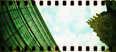 Sprocket Rocket in Cologne (somekeepsakes) Tags: film analog germany deutschland lomo xpro crossprocessed europa europe cologne kln analogue 2012 sprockets perforation sprocketrocket lomographyxpro200