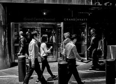 New York City, USA, 2015. (Luis Miguel Torres Manchola) Tags: nyc newyorkcity blackandwhite usa blancoynegro blackwhite streetphotography callejera photoderue centralstationnyc