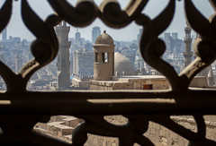 View from the Mosque of Muhammad Ali, Caro, Egypt (Danil den Toom) Tags: egypte egypt cairo mosque mohammed ali view skyline city metropole ancient gizeh minaret islam