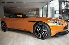 Aston Martin DB11 (Santix_24) Tags: mexico df cdmx city autos exoticos exotic cars astonmartin db11 new orange geneva db10 pentax k50 world supercars vehculo auto