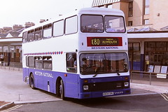 WESTERN NATIONAL 804 K804ORL (bobbyblack51) Tags: bus station volvo all transport national western 1995 northern 804 types paignton counties palatine olympian of k804orl
