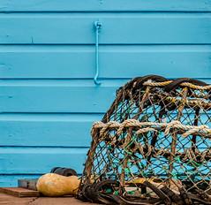 Lobster Blue (TD2112) Tags: wood beach coast wooden dorset beachhuts mudeford mikebrowne tonyduke