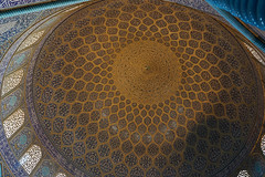Intrieur de la mosque du Cheikh Lotfallah, Isfahan, Iran (TournicO) Tags: art iran sony islam du a7 islamic isfahan roi mosque coupole chiite espahan